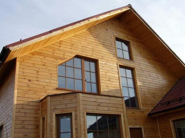 Фото обшивка дома имитацией бруса